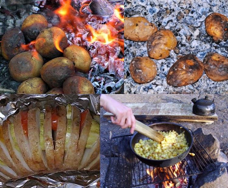 Как запекать картошку в углях - простые секреты и вкусные рецепты