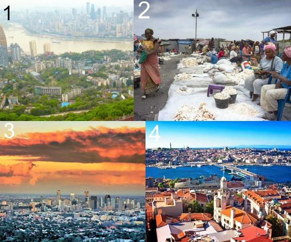 Самый большой город фото