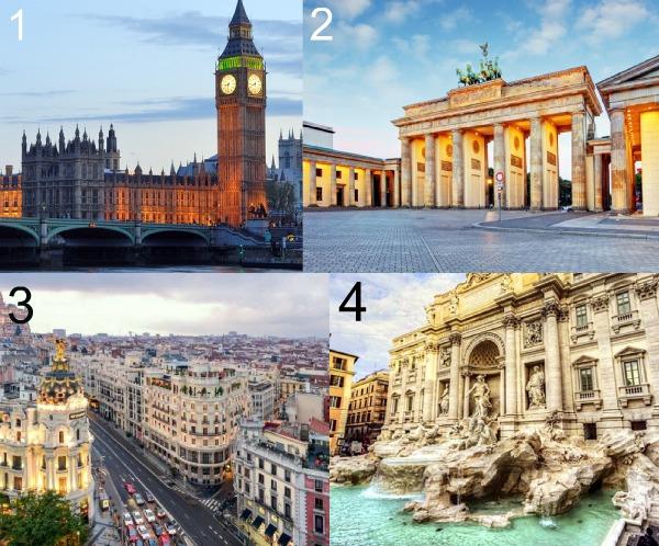 Мегаполисы Европы фото