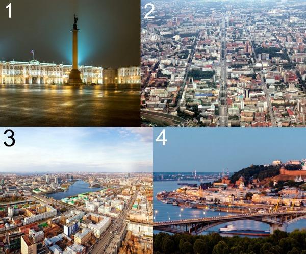 Крупнейшие города России фото