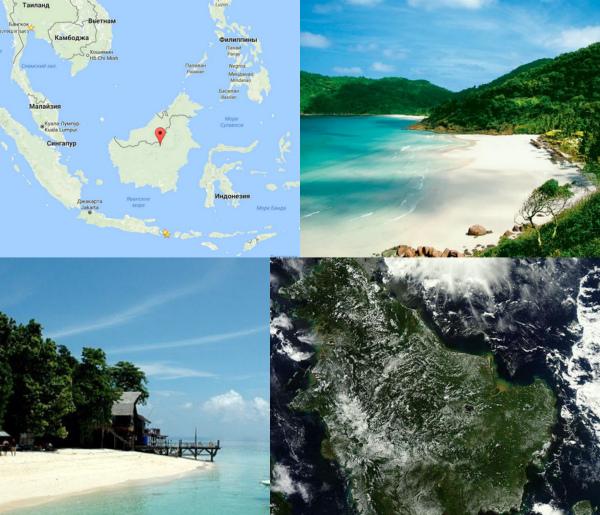 Остров Борнео фото