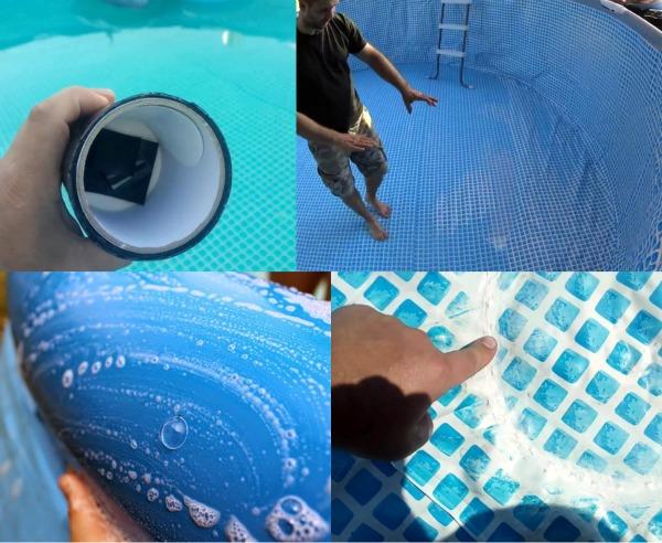 Заплатка для надувного бассейна