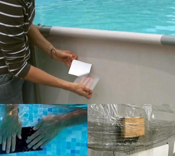 Водостойкая латка для бассейна