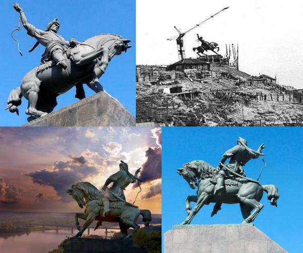 Как выглядит памятник Салавату Юлаеву