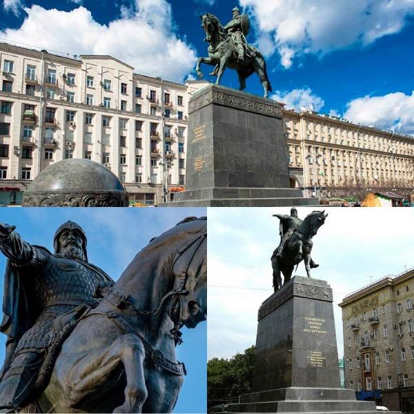 Памятник Юрию Долгорукому фото