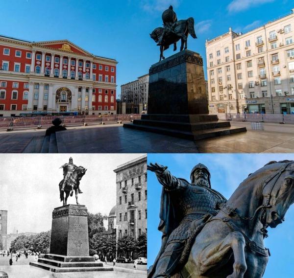 Памятник Юрию Долгорукому архитектор