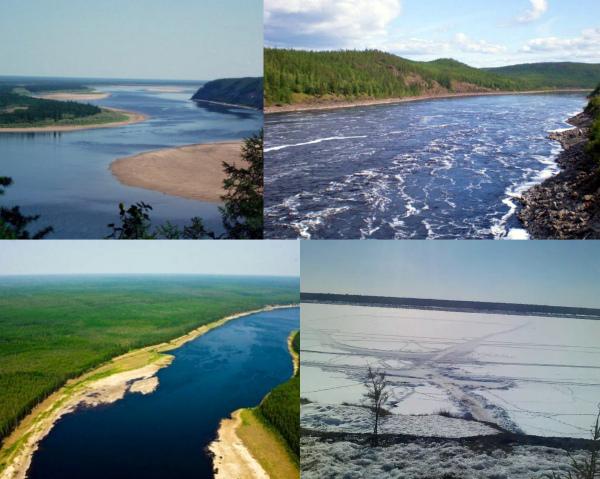 Река Вилюй фото