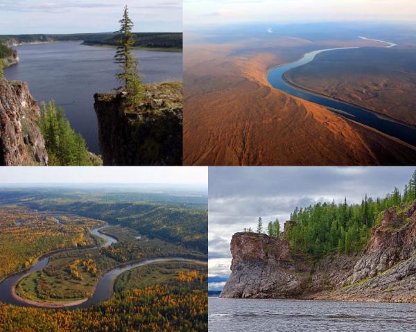 Река Нижняя Тунгуска фото