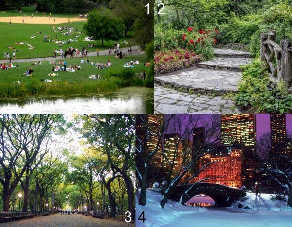 Самые живописные места Центрального парка