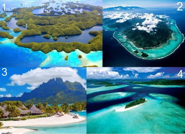 Самые известные острова Тихого океана