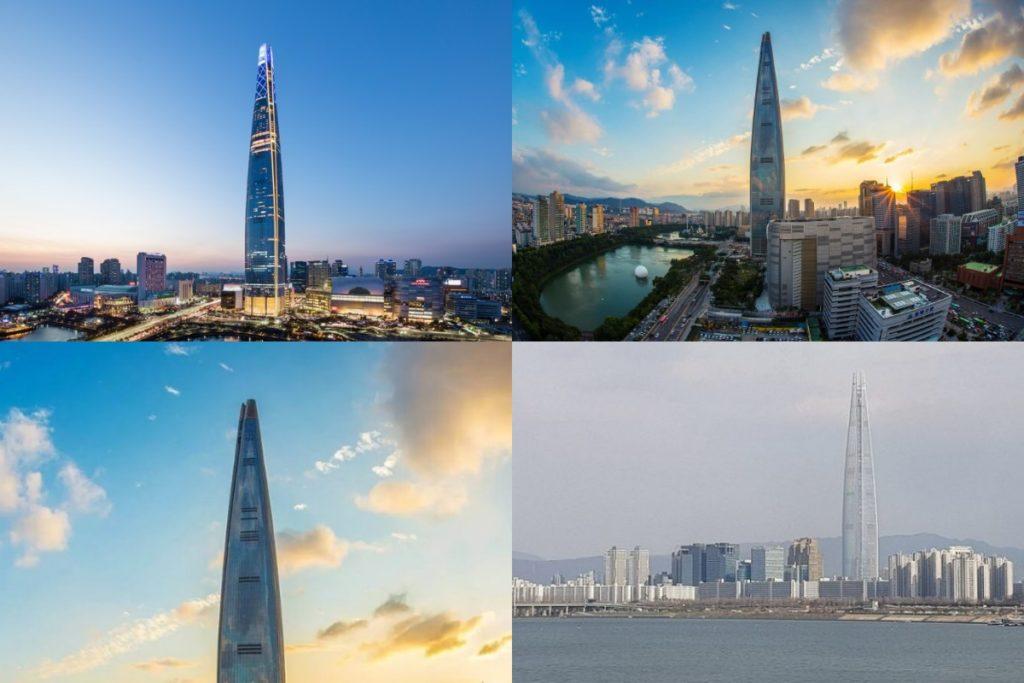 Башня Lotte World высота