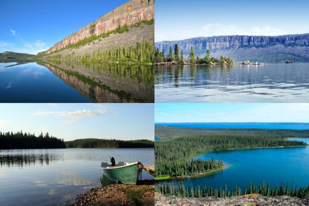 Большое Невольничье озеро фото
