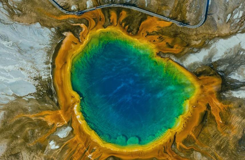 Национальный парк Йеллоустоун фото