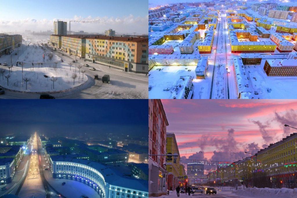 Норильск фото