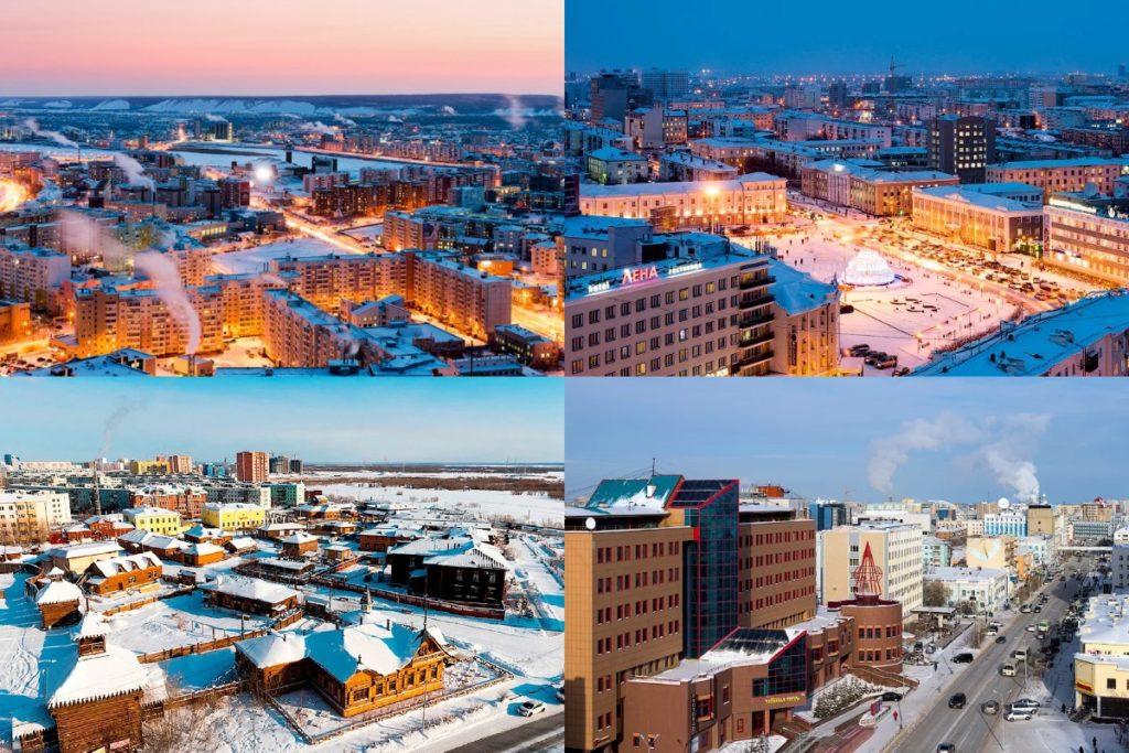Якутск зимой фото